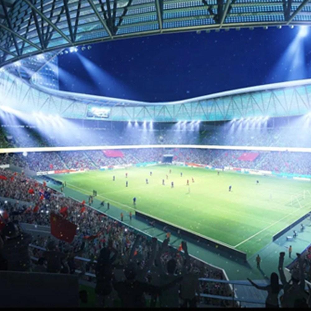 足球场照明灯200W足球场灯光照明方案支持免费项目模拟